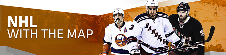 NHL With the Map – voita matka New Yorkiin