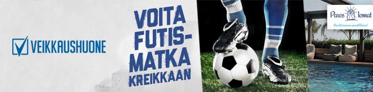 Lyö vetoa Veikkausliigasta ja voita futismatka Kreikkaan!
